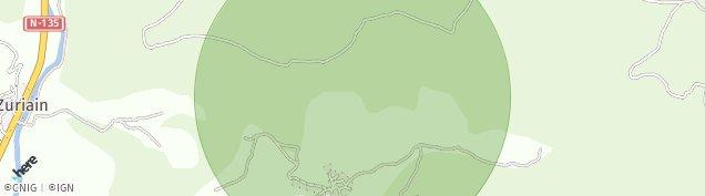 Mapa Zuriain