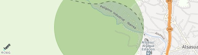 Mapa Alsasua