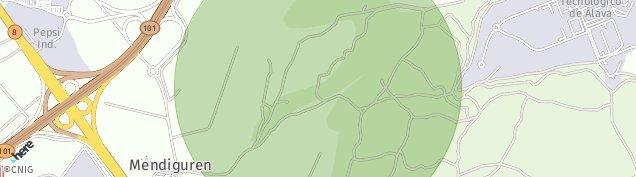 Mapa Mendiguren
