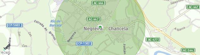 Mapa Negreira