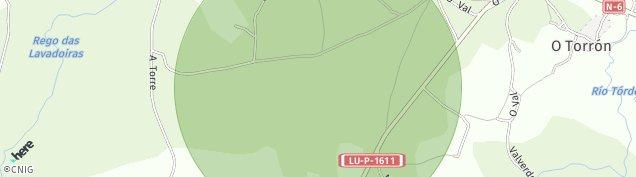 Mapa Gomean