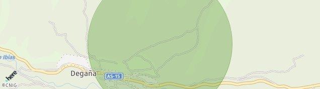Mapa Degaña