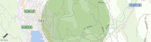 Mapa Cee