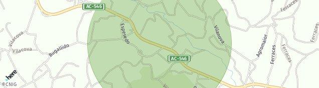 Mapa Corneira