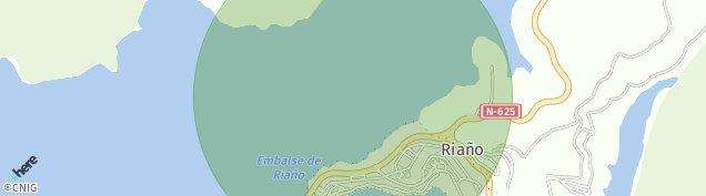 Mapa Riaño de León