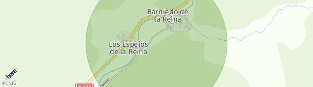 Mapa Barniedo de La Reina