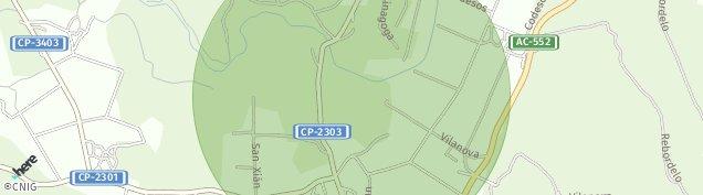 Mapa A Pereiriña