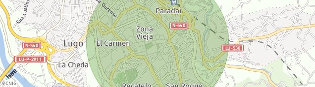Mapa Lugo
