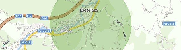 Mapa Eskoriatza