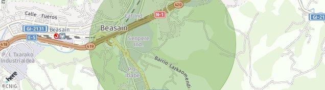 Mapa Lazkao