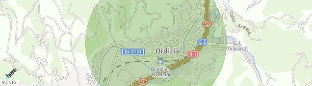 Mapa Ordizia