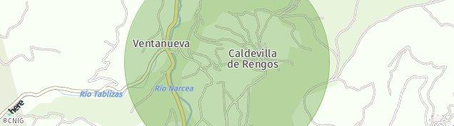 Mapa Posada de Rengos