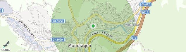 Mapa Mondragón