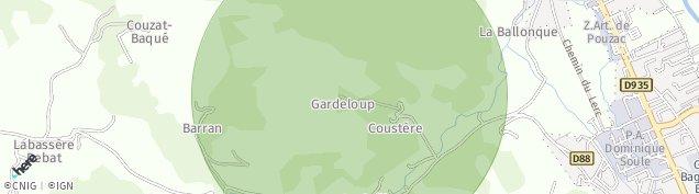 Carte de Labassère