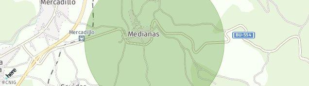 Mapa Villasana de Mena