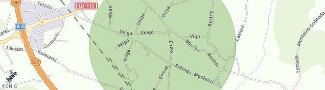 Mapa Bonxe