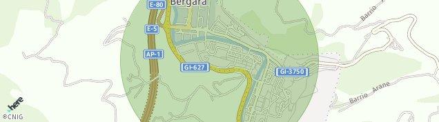 Mapa Bergara