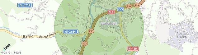 Mapa Usabal