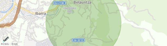 Mapa Ibarra