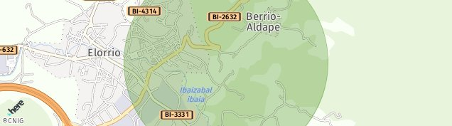 Mapa Elorrio