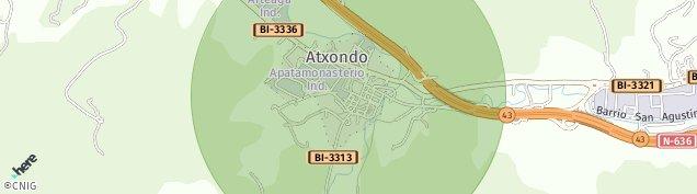 Mapa Apatamonasterio