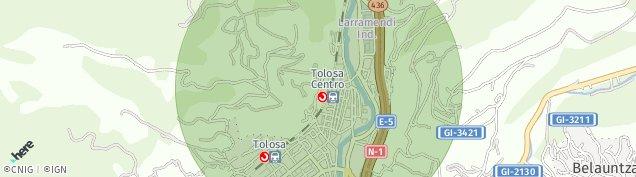 Mapa Tolosa