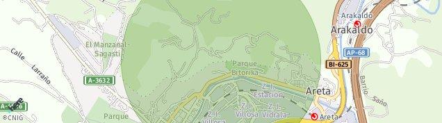 Mapa Llodio