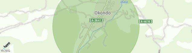 Mapa Okondo