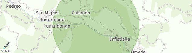 Mapa Pumardongo