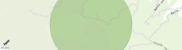 Mapa Orozketa