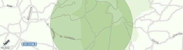 Mapa San Breixo de Parga