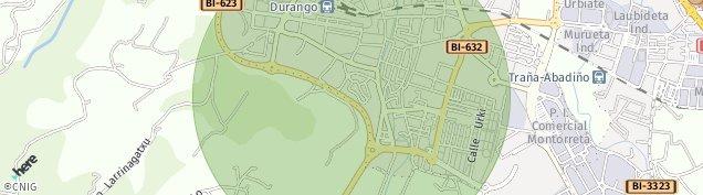 Mapa Durango