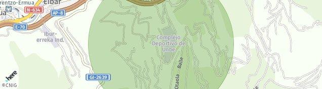 Mapa Eibar