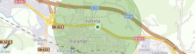 Mapa Iurreta
