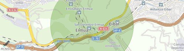 Mapa Ermua