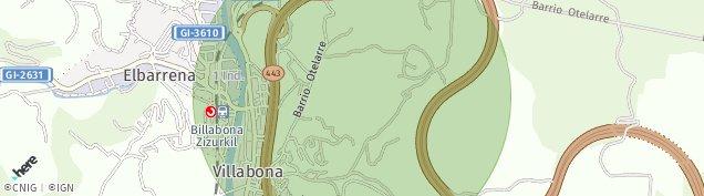 Mapa Villabona