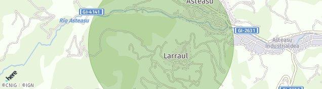 Mapa Elizmendi