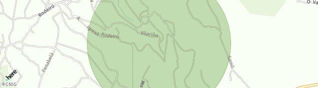 Mapa Rodeiro de A Coruña
