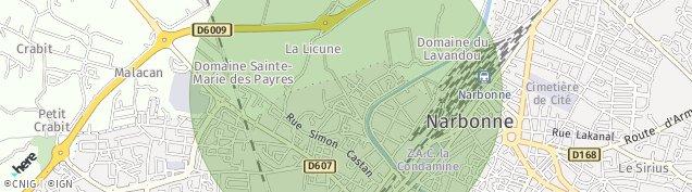 Carte de Narbonne