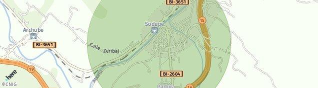 Mapa Sodupe
