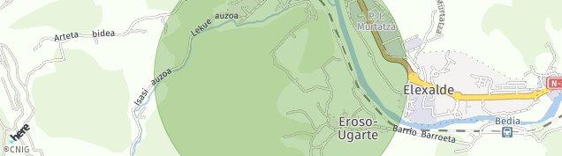 Mapa Usansolo