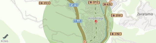 Mapa Arrigorriaga