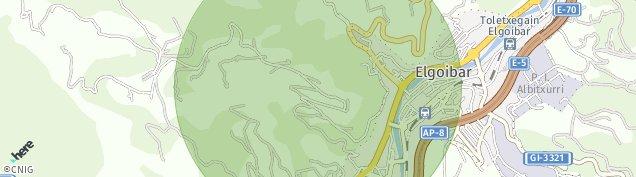 Mapa Elgoibar