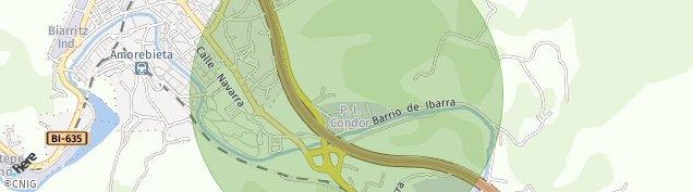 Mapa Etxano