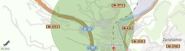 Mapa Agirre