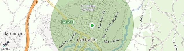 Mapa Carballo