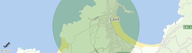 Mapa Laxe
