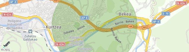 Mapa Galdakao
