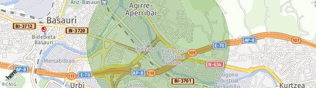 Mapa Agirre-Aperribai