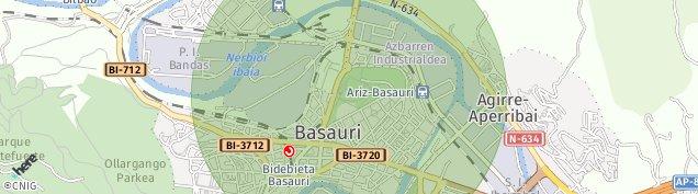Mapa Basauri